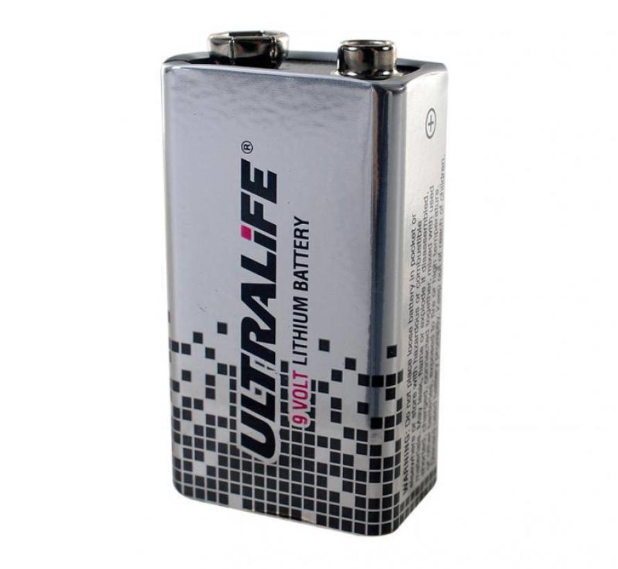 Defibtech Lifeline AED Lithium Batterij 9V