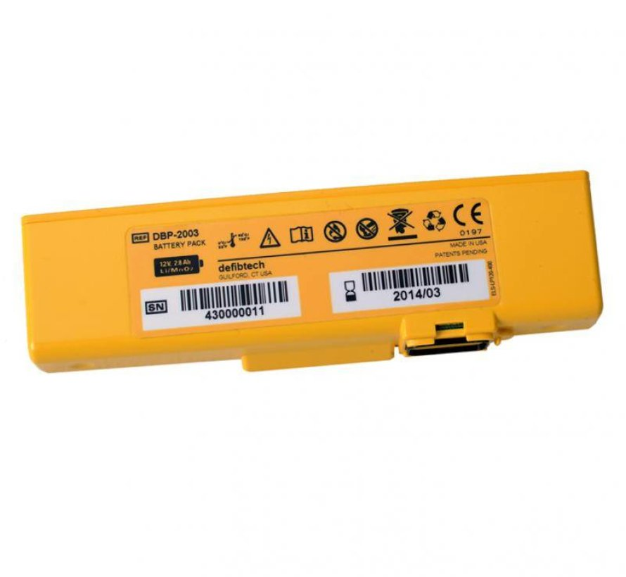 Defibtech Lifeline AED VIEW Batterij