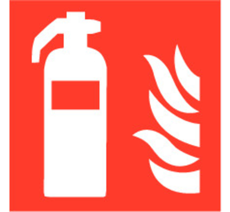 Brandblusser pictogram