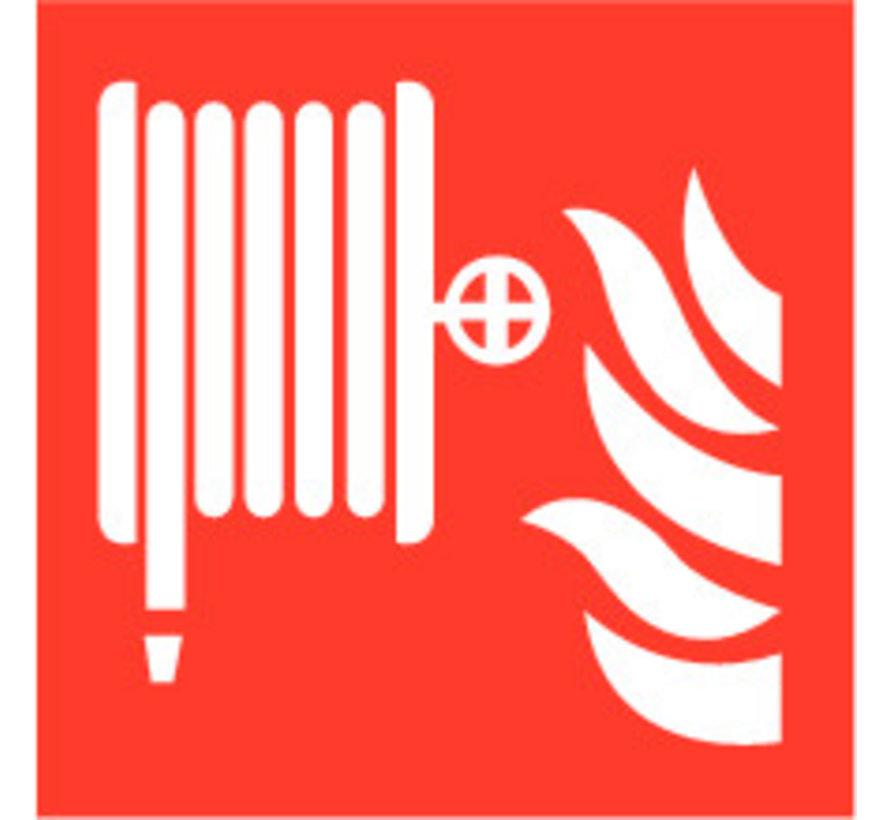Brandslanghaspel sticker
