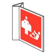 Pikt-o-Norm Blusdeken pictogram (haaks)