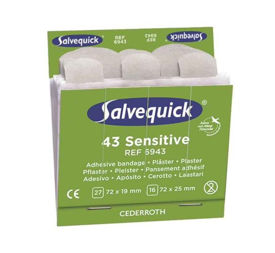 Salvequick navulling non-woven
