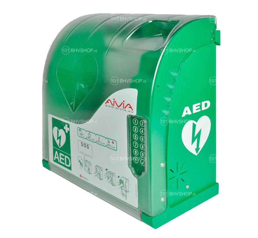 AIVIA 210 verwarmde AED buitenkast