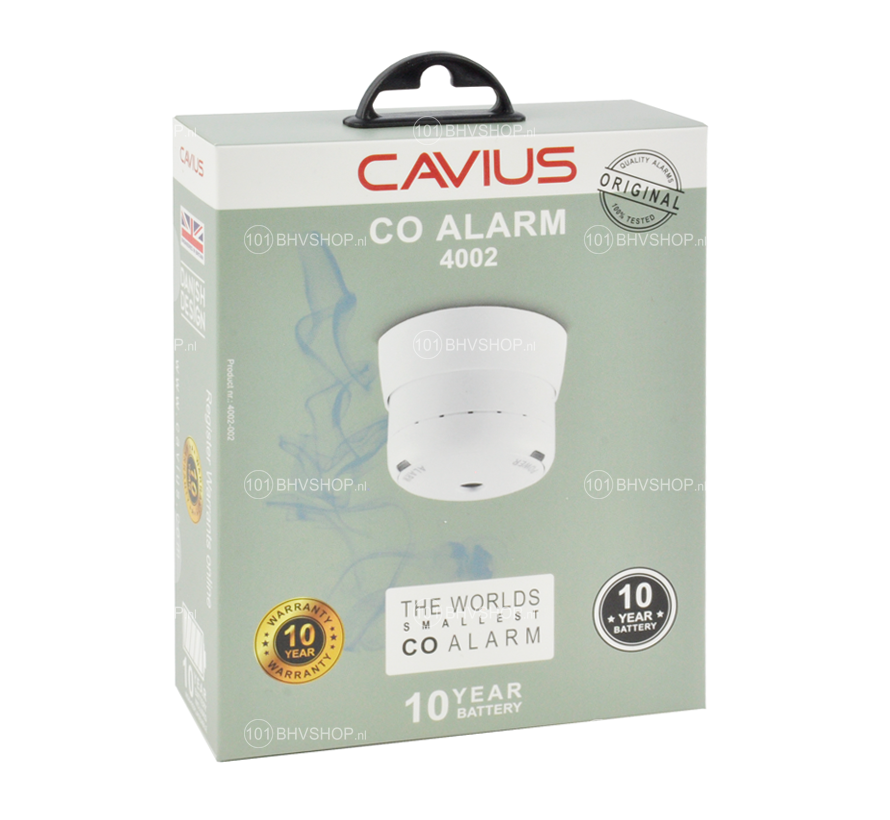Cavius CO melder 4002