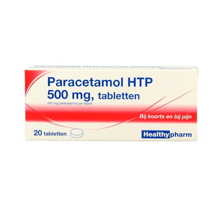 Paracetamol 500mg 20 stuks