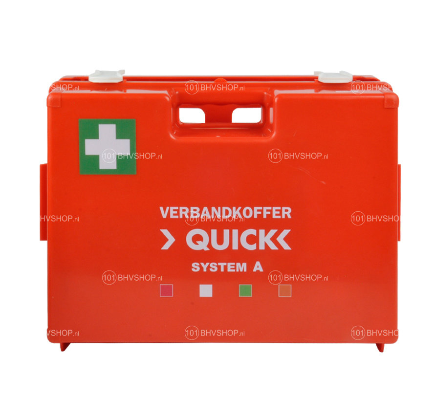Verbandkoffer Quick System  A (6 modules)