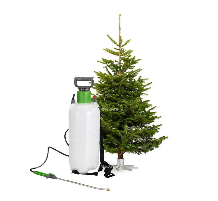 Kerstbomen impregneren