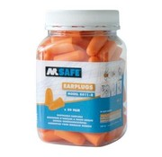 M-Safe Oranje oordopjes 50 stuks