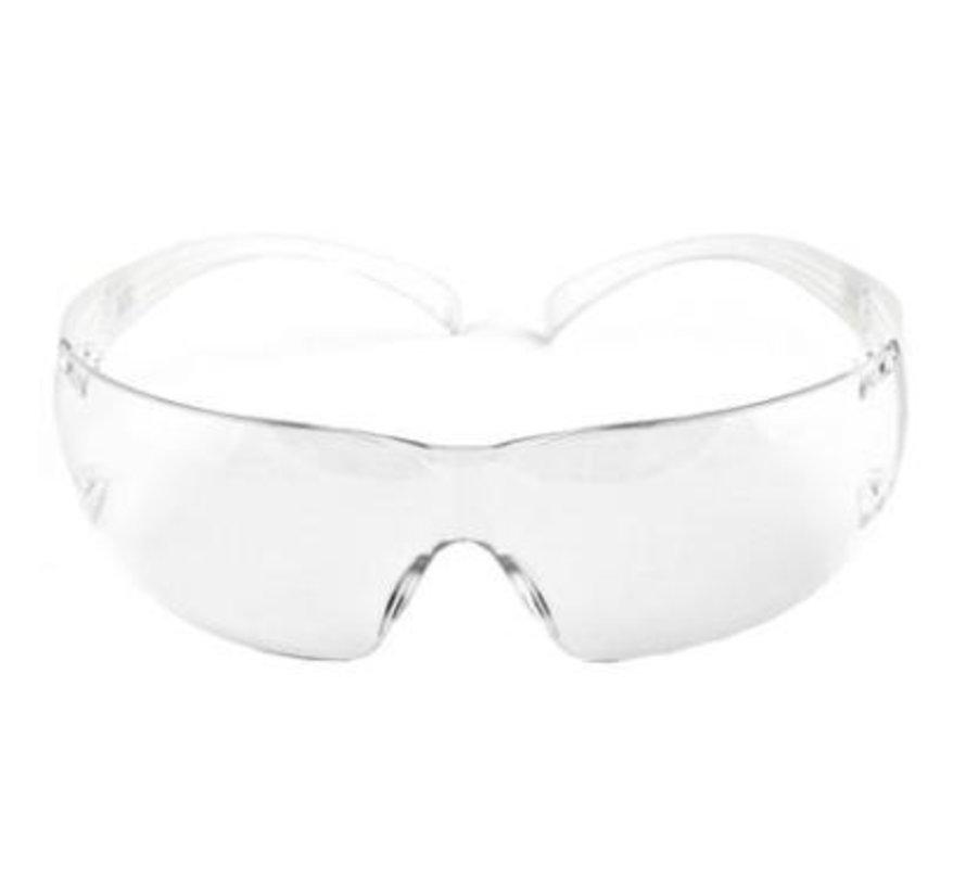 3M SecureFit SF200 veiligheidsbril met AS/AF-coating