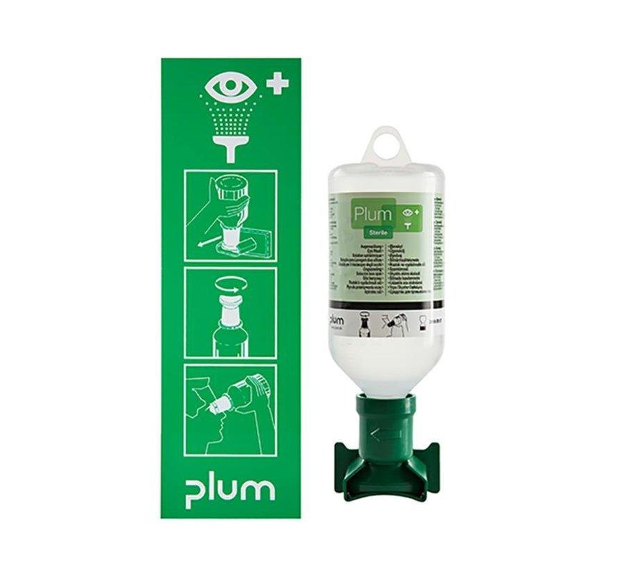 Plum Oogspoeltation Sodium Chloride 1x 500 ml