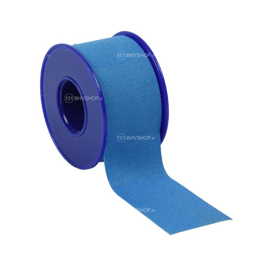 Blauwe hechtpleister HACCP 2,5cm x 5m