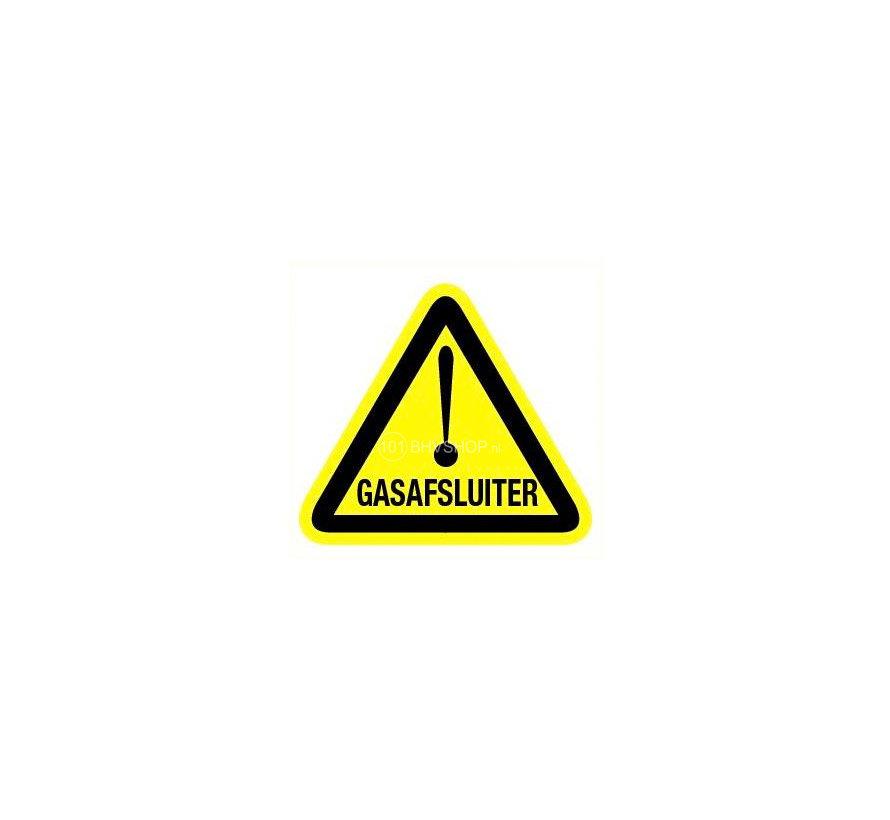 Pictogram gasafsluiter