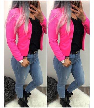 Neon Pink Colbert