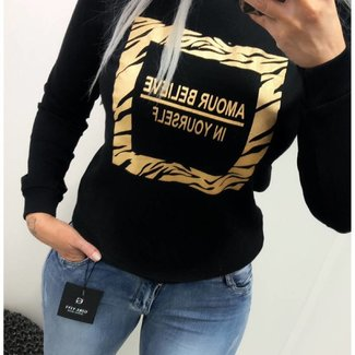 Sweater Amour Gold
