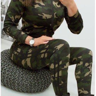 ARMY STRIPE BLACK 2-DELIG PAK