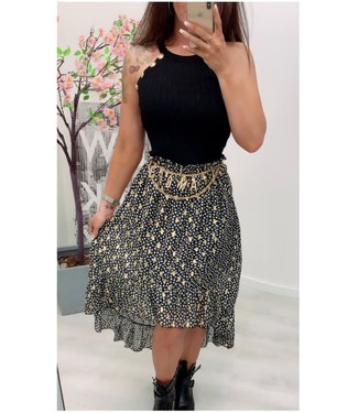 Classy Skirt Long Gold