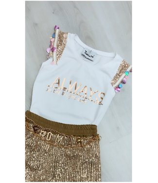 Classy Top Champagne - ONESIZE