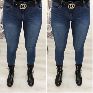 Jeans Queens Heart Blue