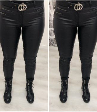 Leather Look Broek
