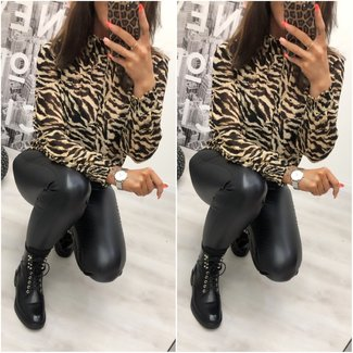 Classy Blouse Brown