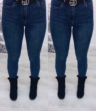 Stretch jeans dark blue - Toxic