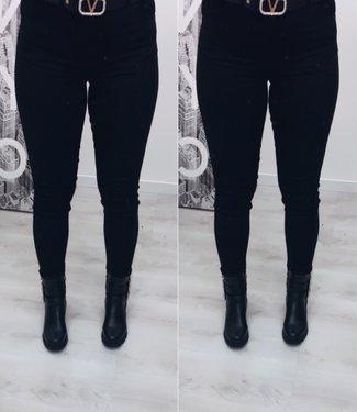 Stretch jeans zwart - Toxic