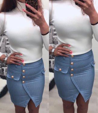 Light Blue skirt ( vallen iets kleiner )