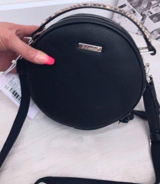 Classy bag Round Black