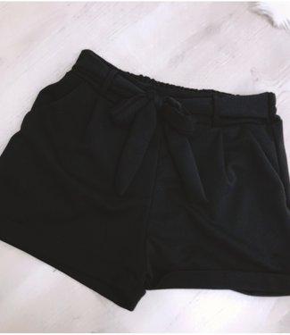 Black Bow Shortje - ONESIZE