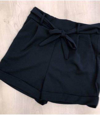 Bow shortje dark blue - ONESIZE