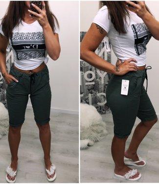 Basic stretch short - Green