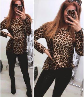 Oversized Leopard Sweater