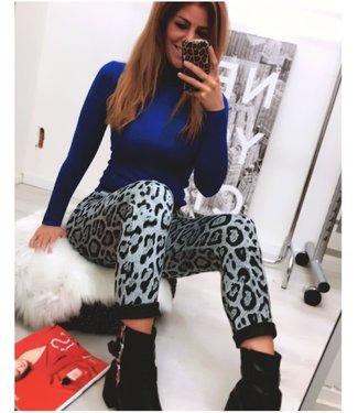 Leopard jogger Grey