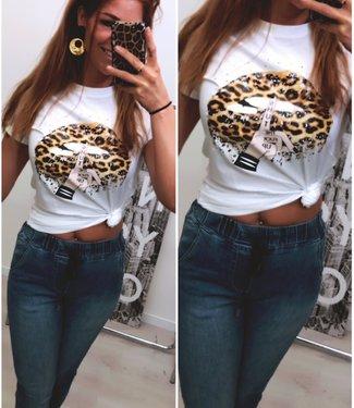 Top Leopard Lips