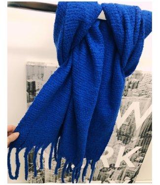 Kobalt Sjaal Groot