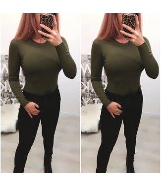Basic sweater Green