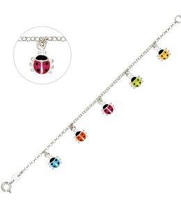 JOBO Kids bracelet ladybugs