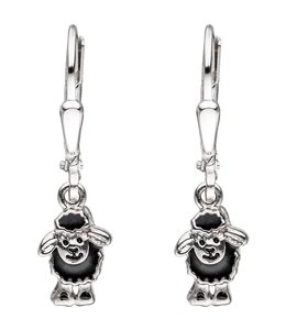 JOBO Kids earring Black Sheep Silver