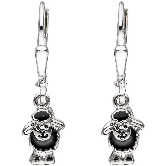Aurora Patina Kids earring Black Sheep Silver