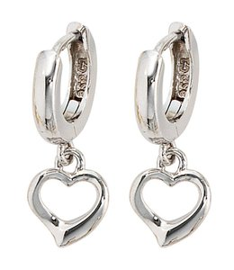 JOBO Kids creole earrings Hearts