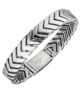 JOBO Men's bracelet stainless steel 21 cm