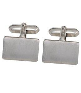 JOBO Silver cufflinks matted
