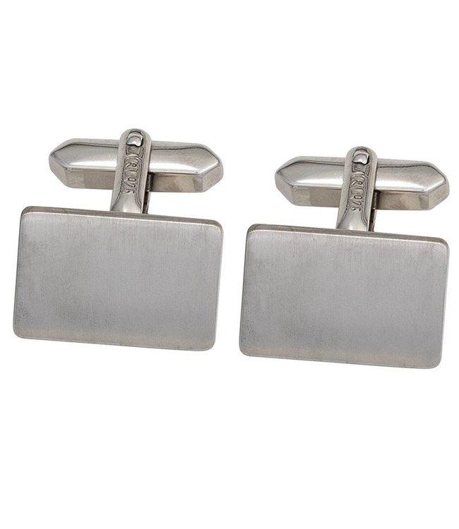 Aurora Patina Manchetknopen 925 Sterling Zilver gematteerd