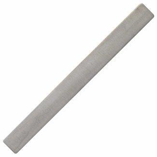 Aurora Patina Silberne Krawattennadel mattiert
