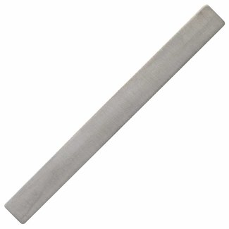 Aurora Patina Silver tie pin matted