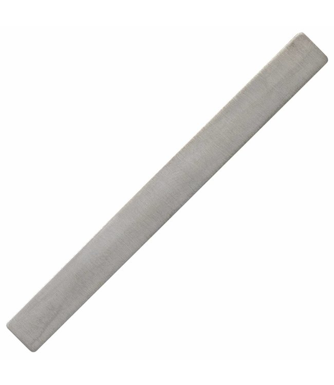 JOBO Silver tie pin with a beautiful matt finish