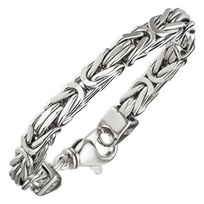Byzantine King Bracelet 925 Sterling Silver 20 cm