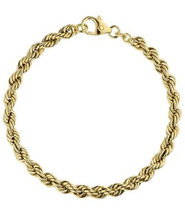 JOBO Gold Kordelarmband 18,5 cm