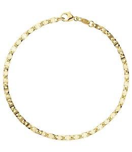 Aurora Patina Gold bracelet 19 cm