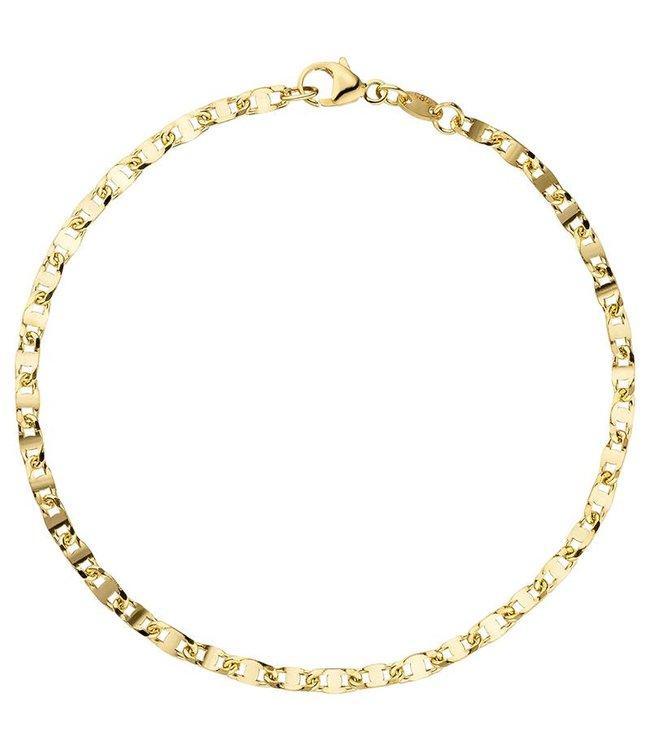 JOBO Gouden armband (585) 19 cm